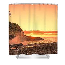 Lihu'e Sunrise Shower Curtain