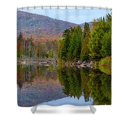 Shower Curtain featuring the photograph Like A Mirror by Mark Papke