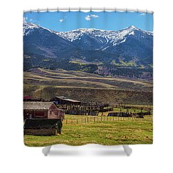 Like An Old Western Movie Shower Curtain by James BO Insogna