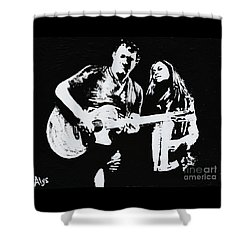 Like Johnny And June Shower Curtain