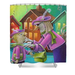 Like Mother Like Daughter Shower Curtain by Eva Folks