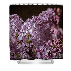Lilac Bouquet IIi Shower Curtain