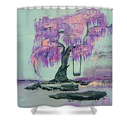 Lilac Dreams- Prince Shower Curtain