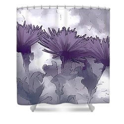 Lilac Fancy Shower Curtain