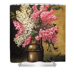 Lilacs Shower Curtain