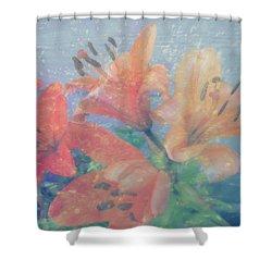 Lilies #1 Shower Curtain