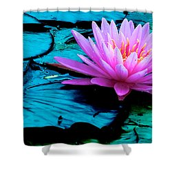 Lilies Of The Field Shower Curtain