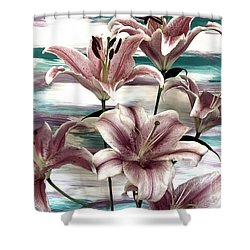 Lilies That Soothe Me Shower Curtain
