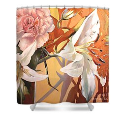Lilly Melange Shower Curtain
