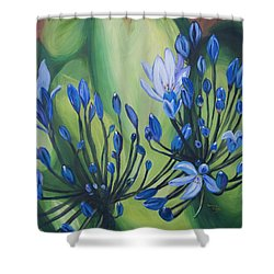 Lilly Of The Nile Shower Curtain