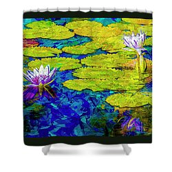 Shower Curtain featuring the photograph Lilly by Paul Wear