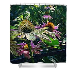 Lil's Garden Shower Curtain