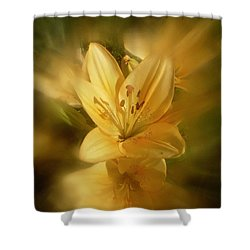 Shower Curtain featuring the photograph Lily Be Mine by Richard Cummings