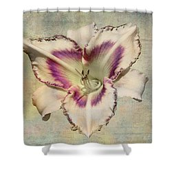Lily For A Day Shower Curtain by Angela A Stanton