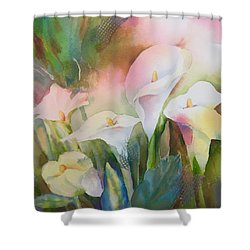 Lily Light II Shower Curtain