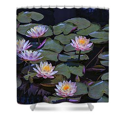 Lily Of The Night Shower Curtain