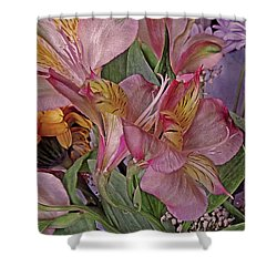 Lily Profusion 7 Shower Curtain
