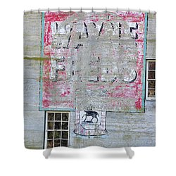 Lime Valley Mills Shower Curtain by David Arment
