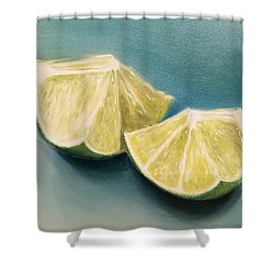 Limes Shower Curtain