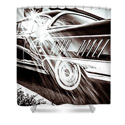 Shower Curtain featuring the photograph Limited by Wade Brooks