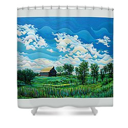 Limitless Afternoon Dreams Shower Curtain