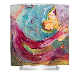 Limitless Shower Curtain by Gail Butters Cohen