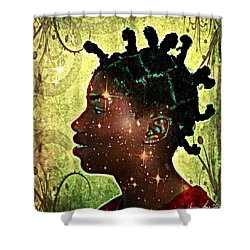 Limitless Shower Curtain by Iowan Stone-Flowers