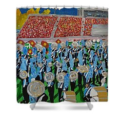 Lincoln Band Shower Curtain by Rodger Ellingson