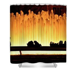 Lincoln Center Fountain Shower Curtain