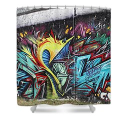 Lincoln Street Shower Curtain by Sheila Mcdonald