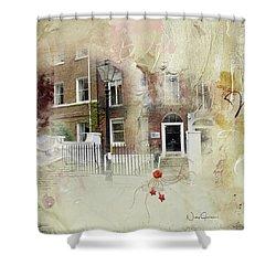 Lincoln's Inn Fields I Shower Curtain