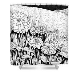 Linda's Garden Shower Curtain