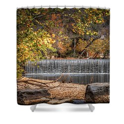 Lindenlure Shower Curtain