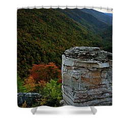 Lindy Point Shower Curtain