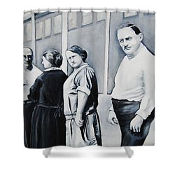 Line Of Peculiar People Shower Curtain