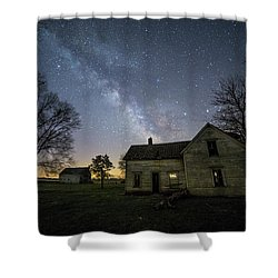 Shower Curtain featuring the photograph Linear by Aaron J Groen
