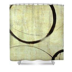 Linen Ensos Shower Curtain by Julie Niemela