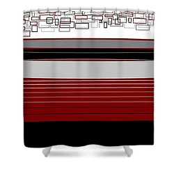 Lines 3 Shower Curtain