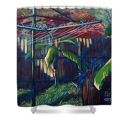 Lines And Light Shower Curtain