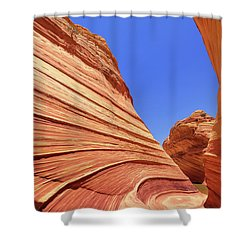 Shower Curtain featuring the photograph Lines by Chad Dutson