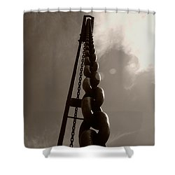 Link Shower Curtain by Brian Roscorla