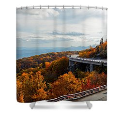 Linn Cove Viaduct Shower Curtain