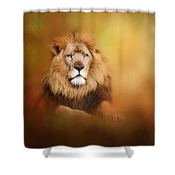 Lion - Pride Of Africa I - Tribute To Cecil Shower Curtain