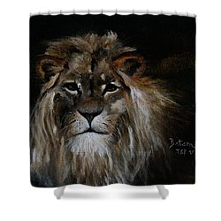 Sargas The Lion Shower Curtain