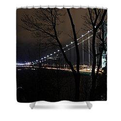 Lions Gate Bridge Shower Curtain