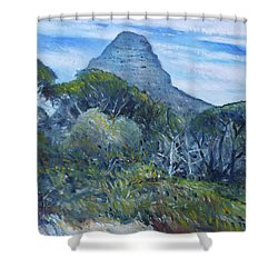 Lions Head Cape Town South Africa 2016 Shower Curtain by Enver Larney
