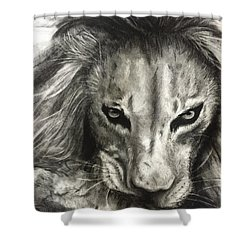 Lion's World Shower Curtain