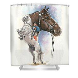 Lippizaner Shower Curtain
