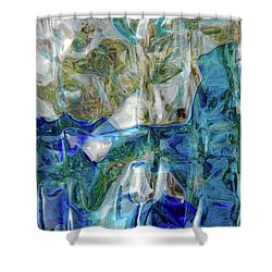 Shower Curtain featuring the photograph Liquid Abstract #0061 by Barbara Tristan