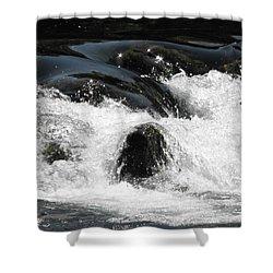 Liquid Art Shower Curtain